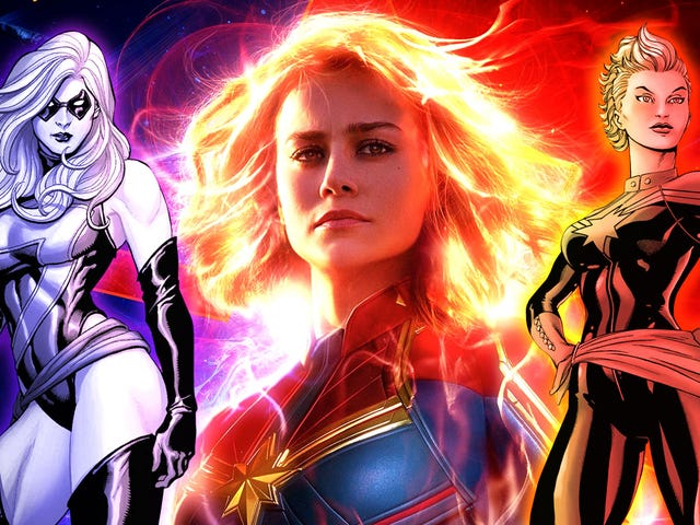 Before she makes her MCU debut, here's what you need to know about the history of Captain Marvel