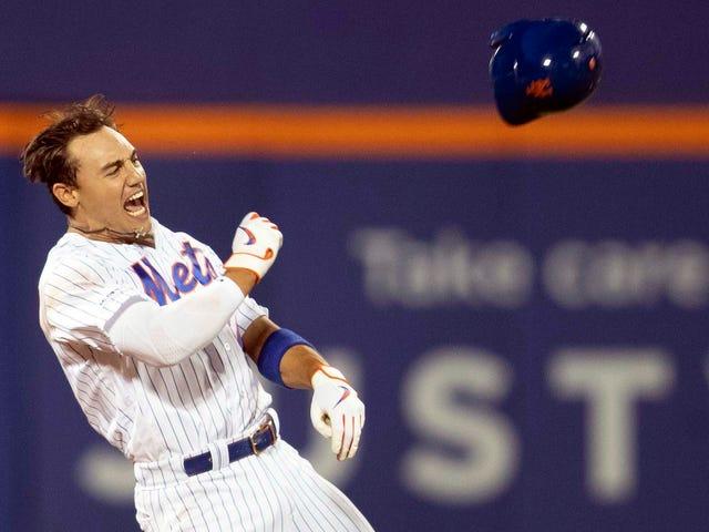 Mets fortsatte sitt playoff-team Cosplay med niende-inngangs-rally og walk-off-gevinst over nasjonaler