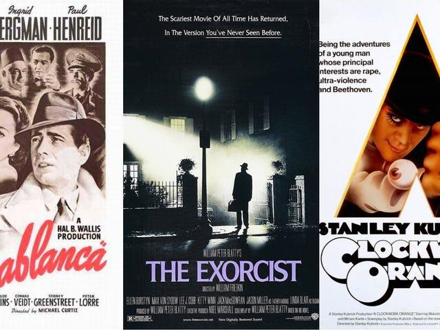 El exorcista, La naranja mecánica y Casablanca: 12 de los mejores carteles diseñados por el maestro Bill Gold