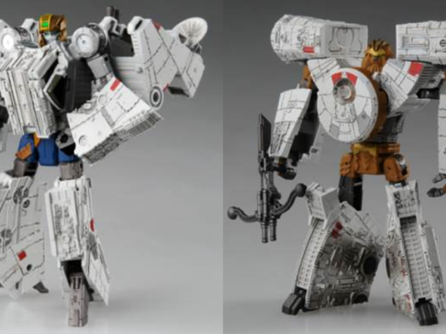 Tomy Is Bringing Back Its Transformers/Star Wars Mashup With Some Smugglers in Disguise