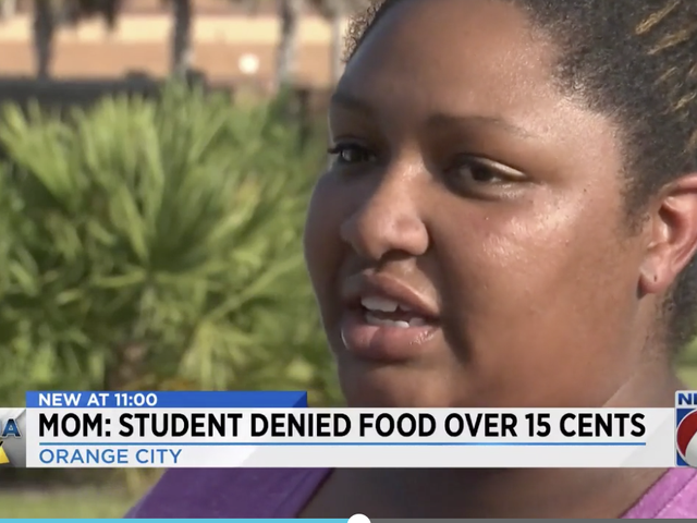 Florida High School Student Denied Lunch Because She Was 15 Cents Short