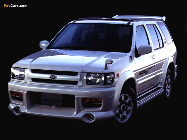 Let us take a moment to appreciate the Autech Nissan Terrano Regulus StarFire 4x4 RS-R