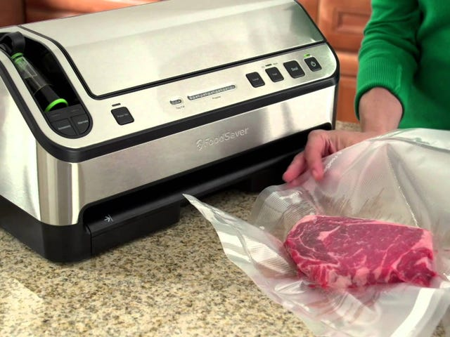 These Discounted FoodSavers and Accessories Will Pay For Themselves