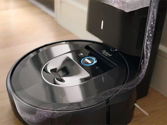 iRobot gør endelig en Roomba, der tømmer sig selv