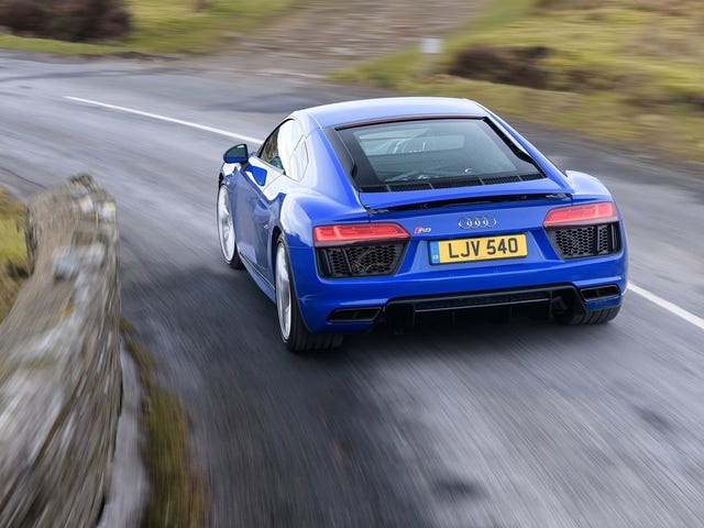 Dammit: No More Audi R8 After This One By The Looks Of It