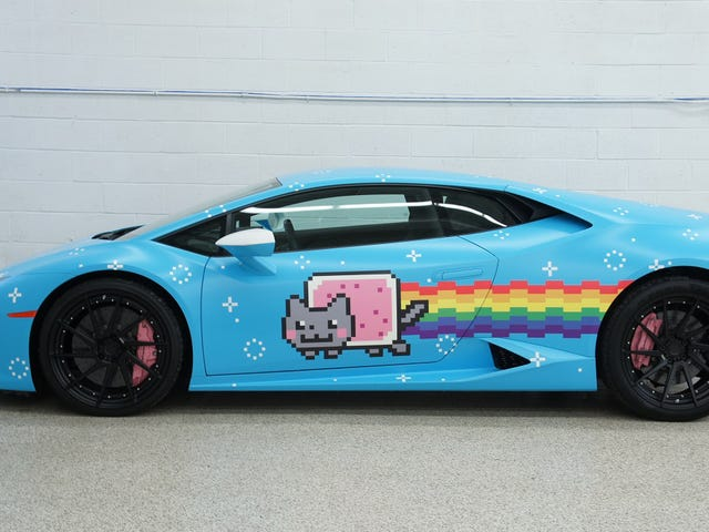 Deadmau5's Nyanborghini Purracan Is For Sale You Guys!!!