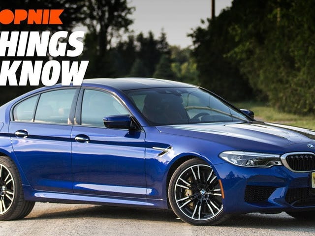 The 2018 BMW M5: Five Things to Know