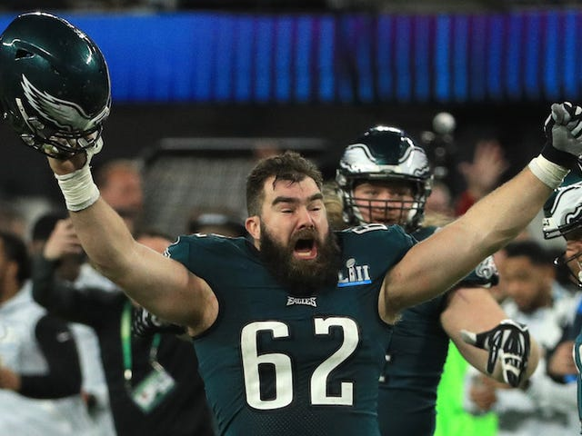 Jason Kelce Says An Eagles Fan Poured Their Grandfather's Ashes Into A Teammate's Hands