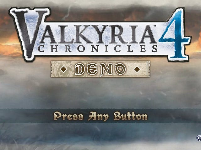 Valkyria Chronicles 4 demo - first impressions