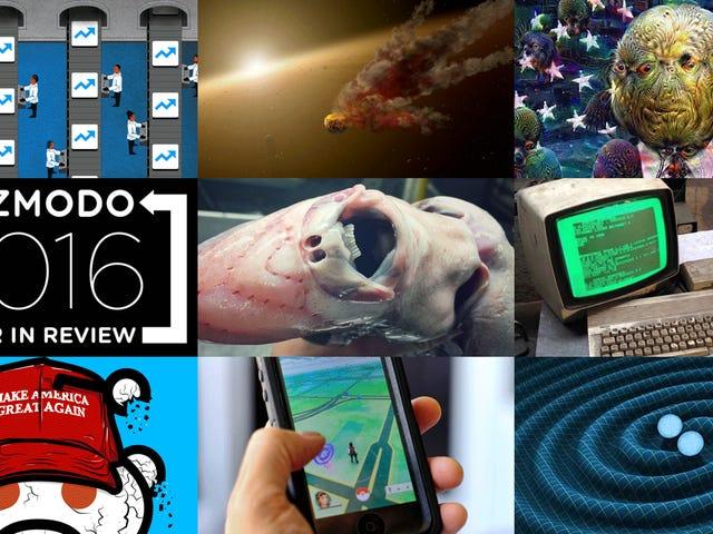 I 100 post Gizmodo più popolari del 2016