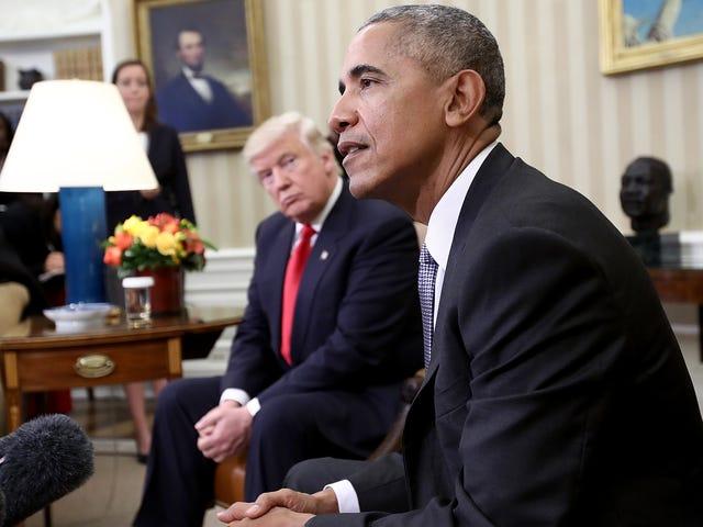 Donald Trump kann es nicht ertragen, dass Obama einen Friedensnobelpreis gewann und er es niemals wird