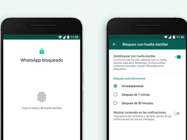 Πώς να προστατέψετε τις συνομιλίες WhatsApp με το αποτύπωμα σας