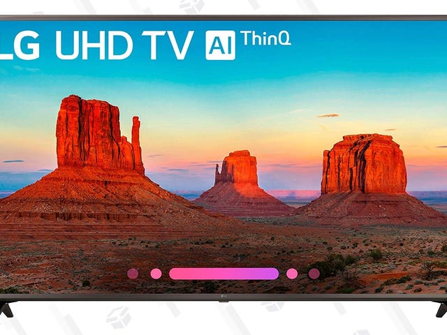 """Upsize To a 65"""" LG TV For Just $617"""