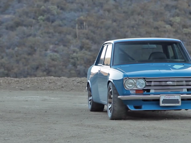 This Incredible Datsun 510 Has An SR20 Turbo Motor And Nearly 400 HP