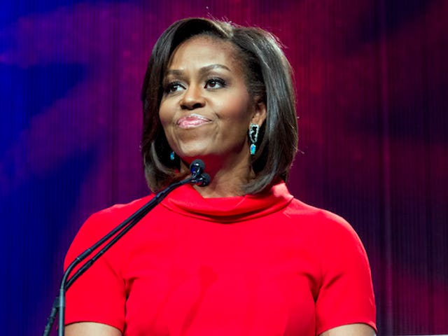 Michelle Obama Fighting Junk Food with Other Celebrities