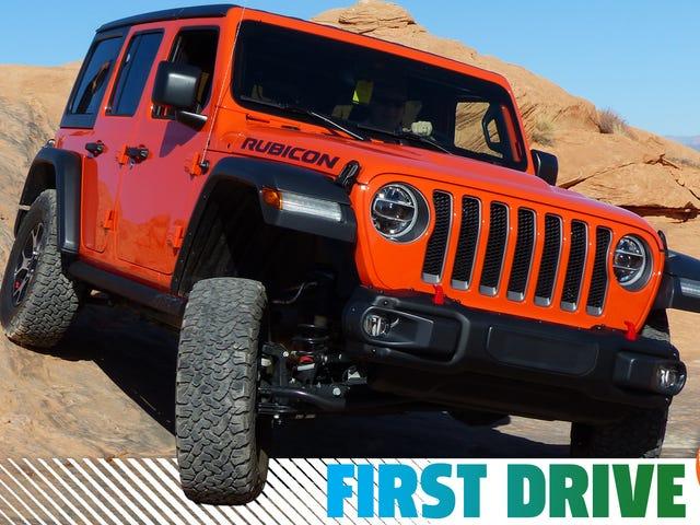 Το πρώτο ντεμπούτο Jeep Wrangler της Αμερικής είναι το Torquey Off-Road Beast που προσευχθήκατε ότι θα ήταν