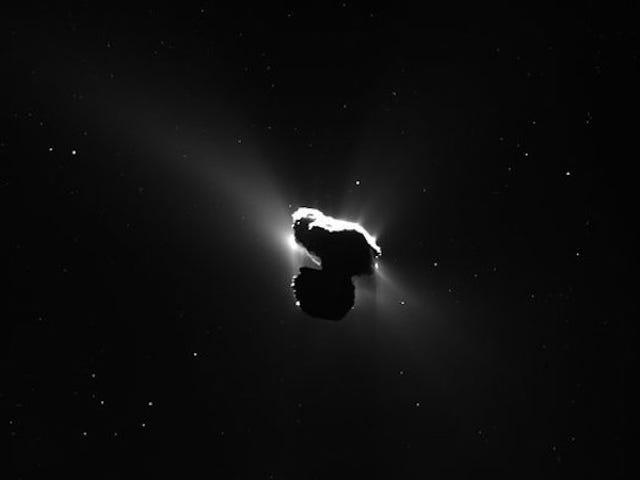 询问Rosetta科学家关于将航天器撞击彗星