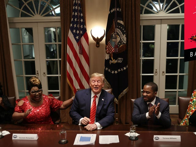 President Trump Is The First Black President, Apparently