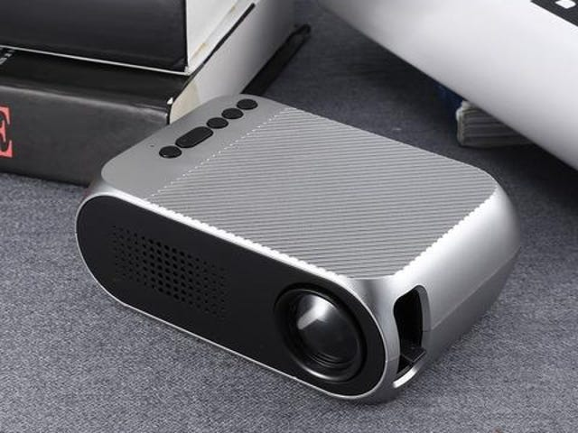 LED LCD Portable Projector 3.5mm 320x240 HDMI USB Mini YG320 updated YG300 Projector