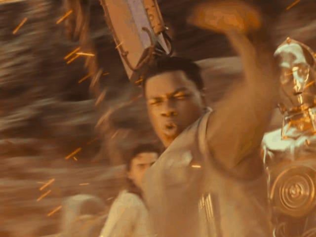 Ποιος είχε στοιχήματα για τον John Boyega που διαρρέει την άνοδο του Skywalker Script;