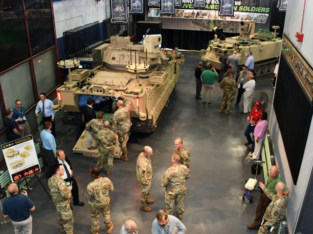 Army to Test New Helluva Way to Die: Robotic Combat Vehicles