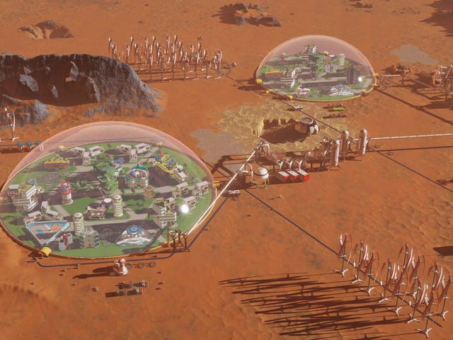 Surviving Mars Is Tempting Me To Build The Perfect Martian Colony