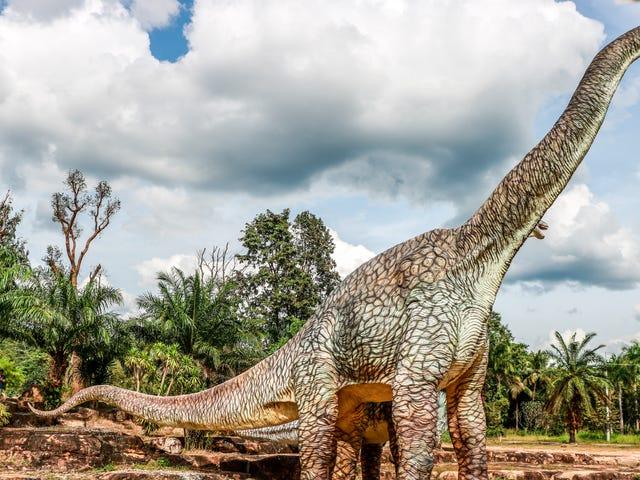 Hur man väger en dinosaurie