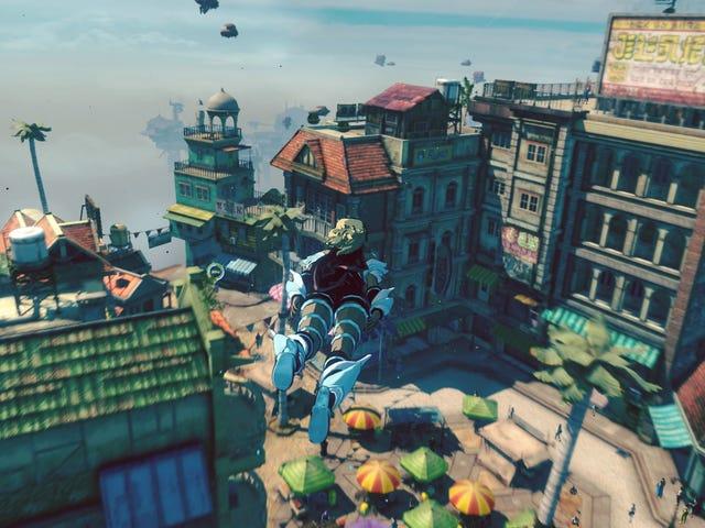 Gravity Rush 2 và những hoài cổ của nền tảng Open-World