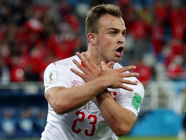Η FIFA θα διερευνήσει δύο παίκτες της Ελβετίας για εορτασμούς αμφιλεγόμενων γκολ