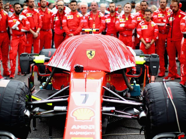 Ferrari Has a New Contraption to Cover Up its Camera And I Love it