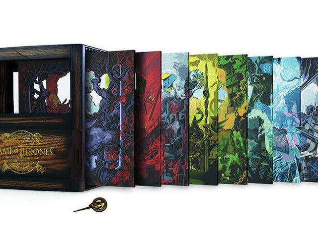 Bộ hộp hoàn chỉnh <i>Game of Thrones</i> 33 đĩa này <i>Game of Thrones</i> đẹp