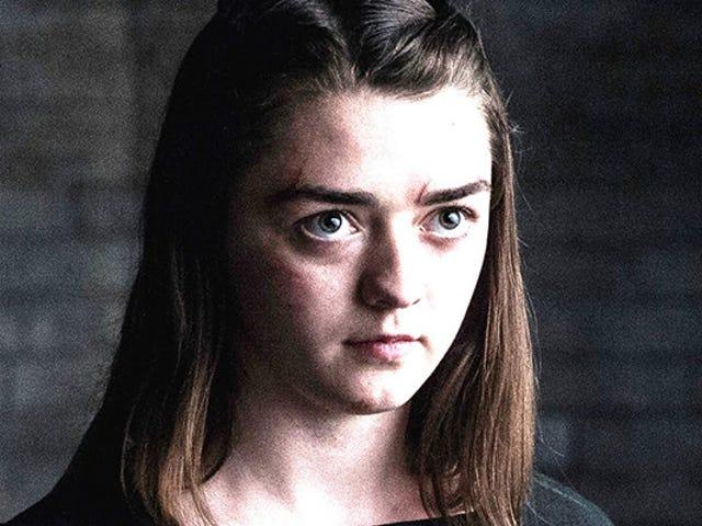 Es una escena perfecta: Maissie Williams explica que rodó a solas su última escena para Juego de Tronos