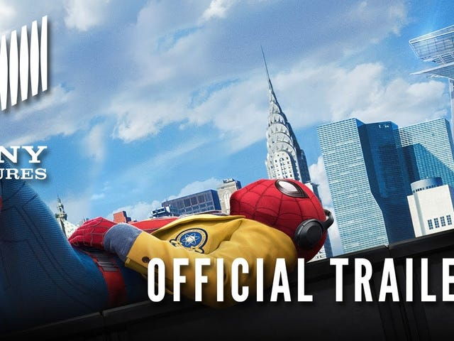 Spider-Man Is Definitely a Teen in the Official Trailer for <i>Homecoming</i>