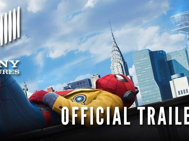 Spider-Man, <i>Homecoming</i> için Resmi Treylerde Kesinlikle Bir <i>Homecoming</i>