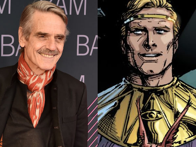 Report: Jeremy Irons to Play Ozymandias in HBO's Watchmen Series