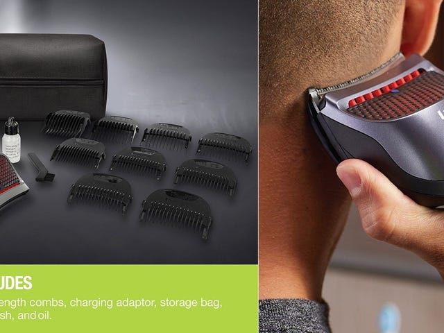 Feeling Daring? Give Yourself a Haircut With This Purpose-Built Trimmer.