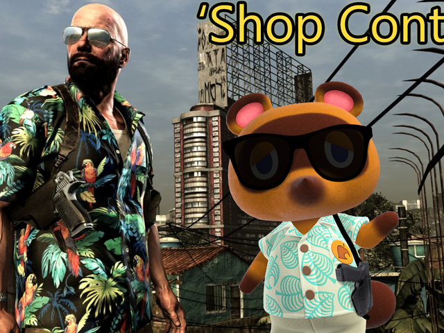 'Shop Contest: Tom Nook On Vacation
