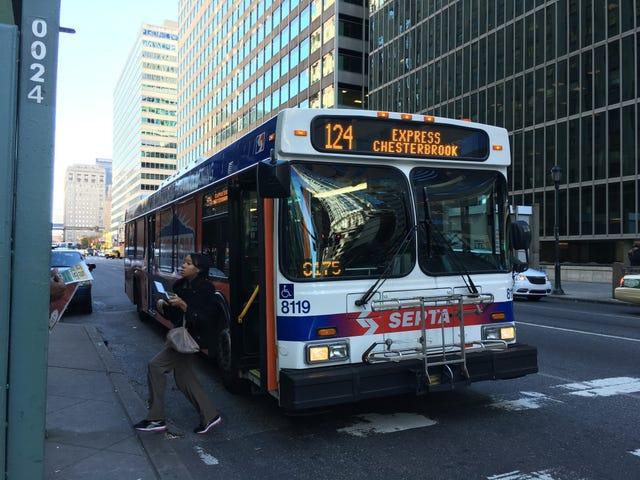 Εδώ είναι ένα λεωφορείο της Φιλαδέλφειας Crawling με Bedbugs, μπορείτε να ξεκινήσετε Screaming τώρα