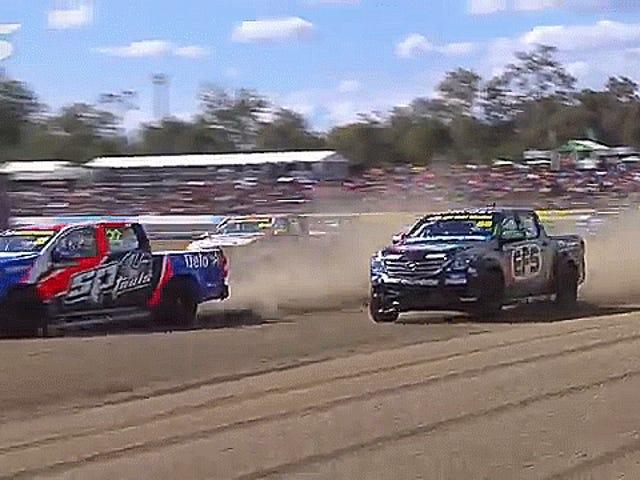 Australian Racing Series tente d'envoyer des pièces de camion en orbite basse