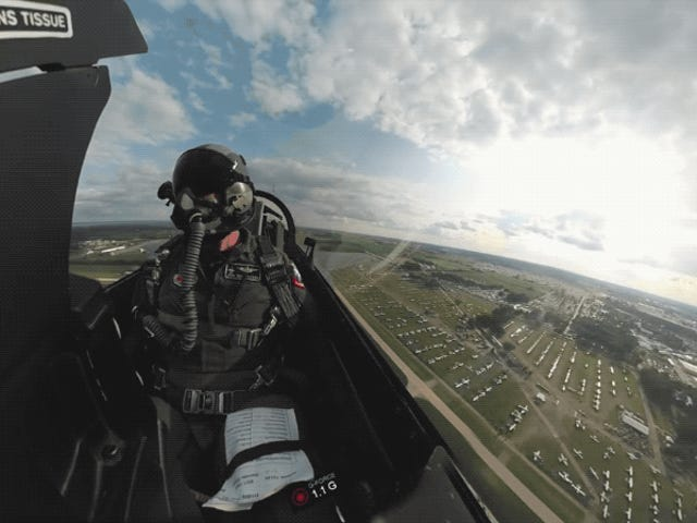 Este increíble video har fået det bedste sted at se, hvor du kan se piloten