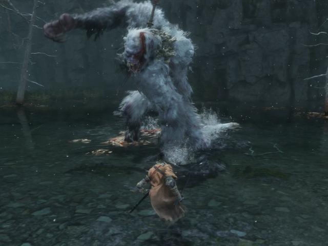 Cuộc chiến ông chủ thông minh nhất của <i>Sekiro'</i> chống lại một con <i>Sekiro'</i> khổng lồ, <i>Sekiro'</i>