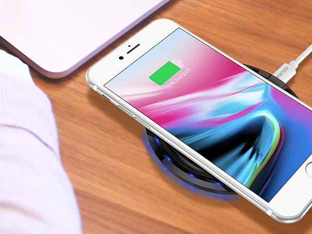 Snag An Extra Qi Charging Pad For Just $10