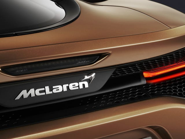 McLaren Is Working on a Driver Focused Ferrari SP2 Competitor Without a Top: Report