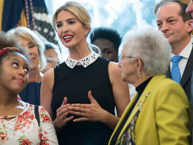 Ivanka Reportedly Did Government Business On Private Email, Too
