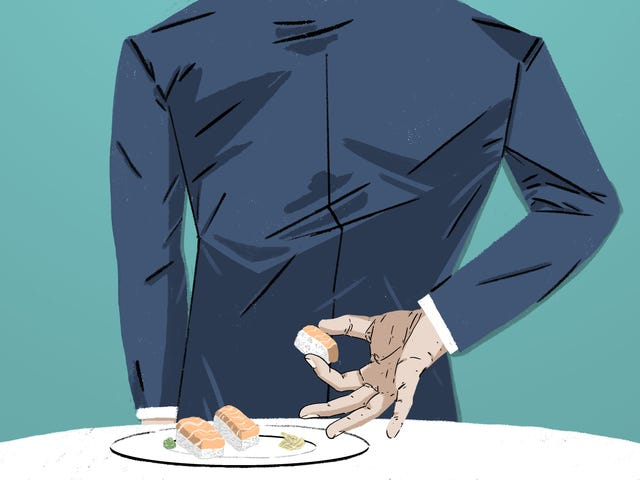 An Interview With A Man Who Eats Leftover Food From Strangers' Plates In Restaurants