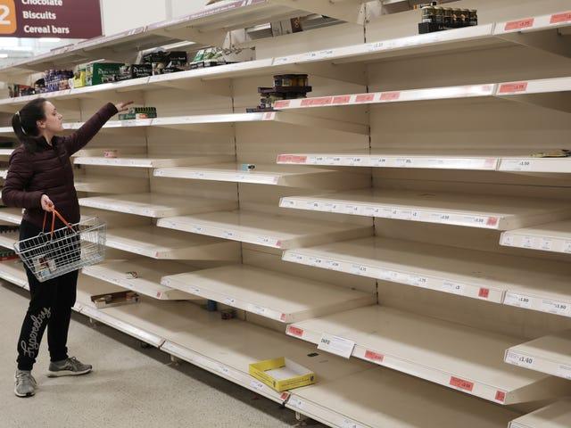 Що можна очікувати, коли ви хочете купувати продукти під час відключення коронавірусу