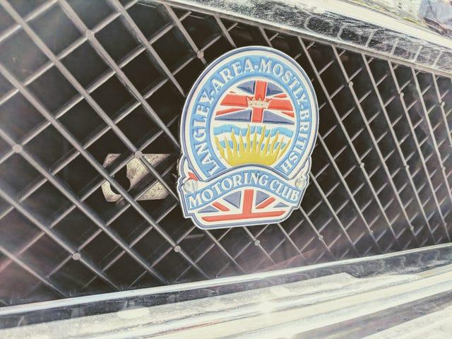 Fort Langley St. George's Day (for det meste) British Car Show