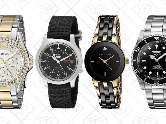 Stay On Time and On Budget With Amazon's One-Day Watch Sale