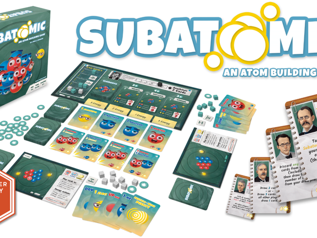This Board Game Is the Most Fun You'll Have Thinking About Particle Physics