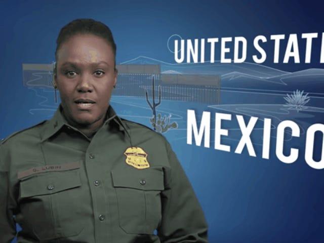 US Border Patrol Releases Propaganda Video Praising President Trump's Proposed Wall